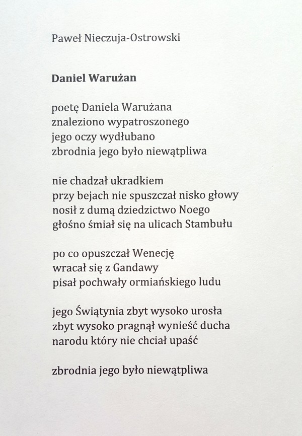 Wspieramto Apokalipsa Pamięci Tomik Poezji