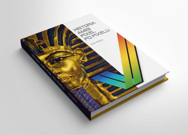 Na zdjęciu książka pod tytułem Historia Amigi pixel po pixelu