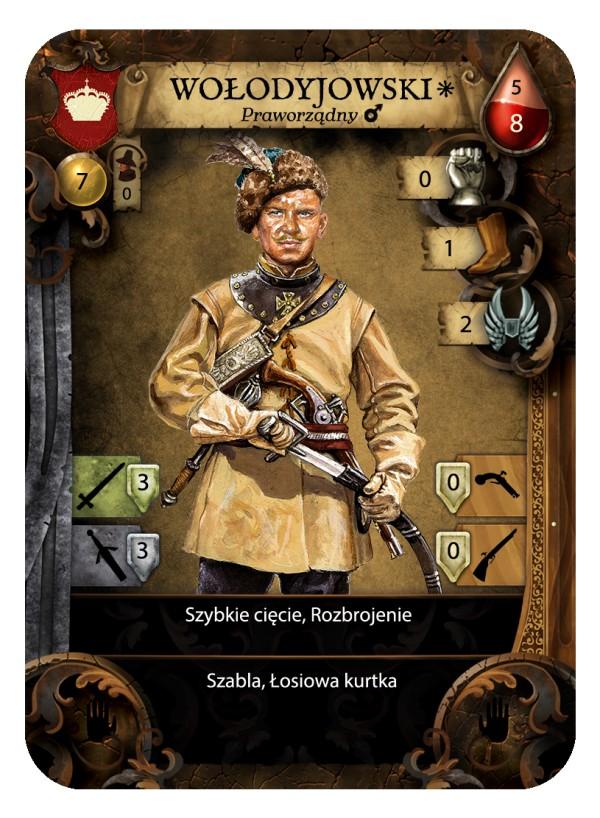 c536333334 Chcielibyśmy zaprezentować Wam dziś karty frakcji polskiej oraz francuskiej  oraz bohaterów tych frakcji Zacznijmy od Obrońców Rzeczpospolitej.