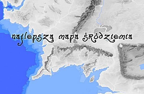 Wspieramto Najbardziej Szczegółowa Mapa śródziemia
